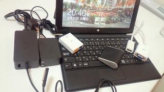 オレ流「Microsoft Surface Pro」をメインマシンにするためのアクセサリ6点はコレだ!!