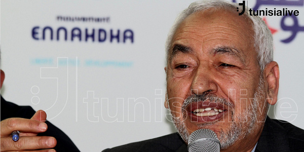 Rached Ghannouchi, January 2012. Image credit: Tunisia Live