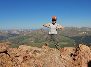 Mt. Bierstadt - Two Thumbs Up for Abyss Lake Approach