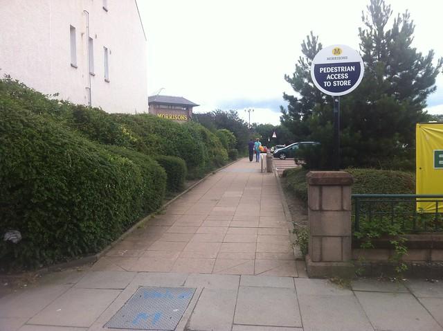 Morrison's pedestrian access
