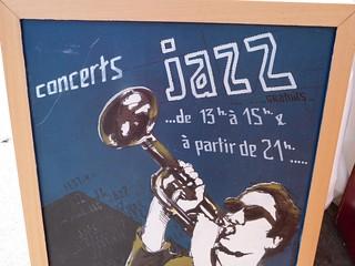 Cartel de Jazz en Marciac (Gers, Francia)