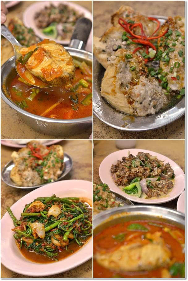Chinese Cuisine @ Chia Yean Cafe, Sungai Nibong