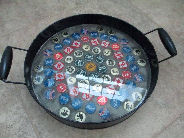 DIY Bottlecap Tray