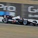 Will Power drives on the backstretch esses during practice at Sonoma Raceway