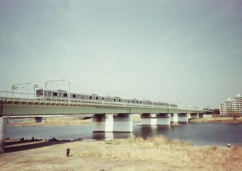 多摩川鉄橋