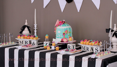 wedding lunch candy table by {zalita}