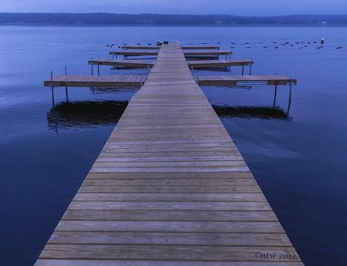 "sunrise dawn wooden dock nikon symmetrical chautauqua week35 chautauquainstitution 2013 coolpixp500 ""nikonflickraward"" weekofaugust26 52weeksthe2013edition 522013"