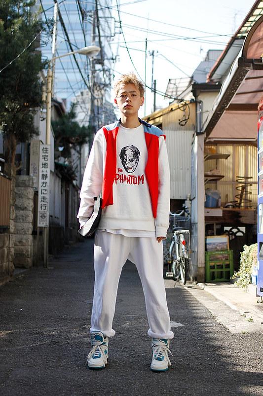 Drop Tokyo Street Style - Area- Harajuku,Tokyo | 原宿,東京 Name- Ryo Narita | 成田凌