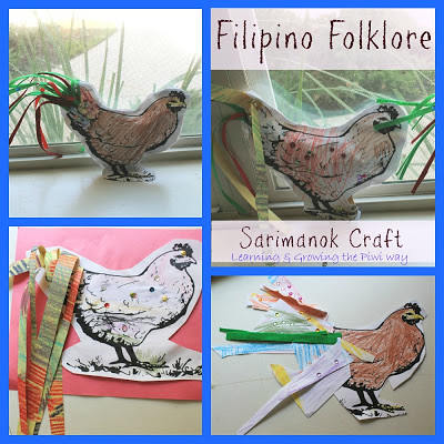 Sarimanok craft