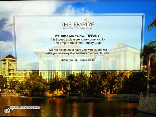 Empire Hotel tiffany yong