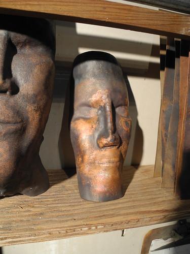 masks in the studio