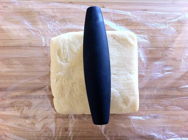 Splitting Homemade Pastry Dough