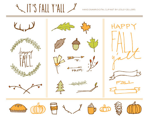 fall-y'all-png-files