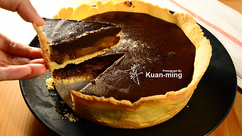 Chocolate Tart with Kiwifruit