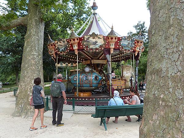 manège parc monceau