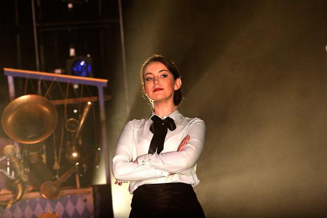 Rachel Kelly as the Cat in El gato con botas © ROH / Catherine Ashmore 2013