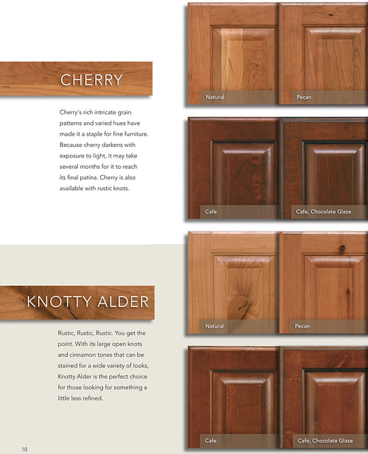 Kitchen Trends Knotty Alder Kitchen Cabinets: Phoenix Kitchen Cabinets In Cherry, Knotty Alder