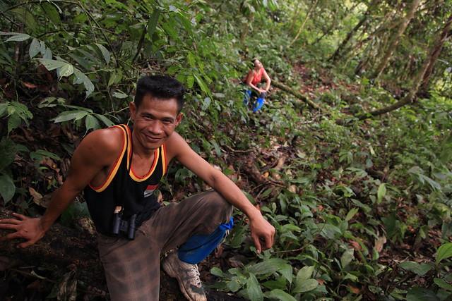 John Kennedy, Jungle Guide, Ketambe, Sumatra