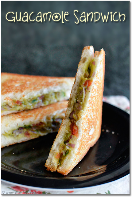 Guacamole Sandwich