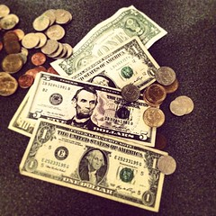 money handling, cash, money, dollar, coin, currency, banknote,