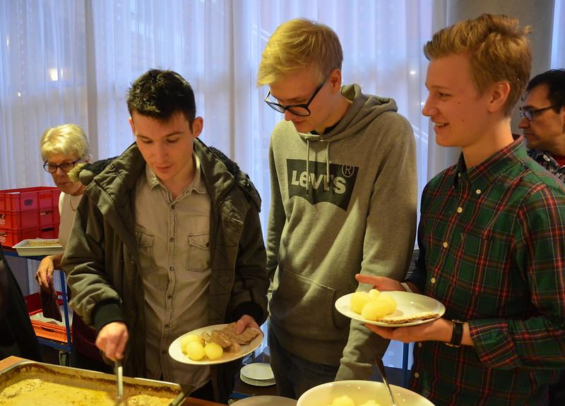 Brassbandfestivalen 2013 - Paul Duffy, Johannes Forsberg och Hannes Persson (Foto: Olof Forsberg)