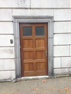 Side door of German Embassy