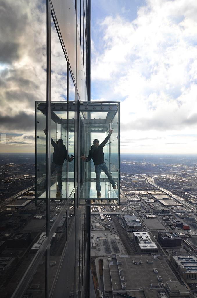 Habitación de cristal de Chicago