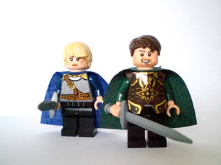 Lego GoT: Brienne and Renly