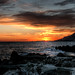 Roquebrune cap Martin sunset by papy06200