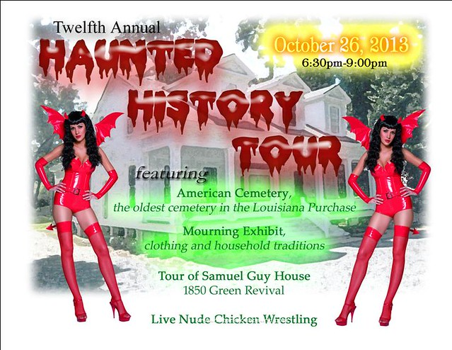 IotW 10-28-13: The Fake Haunted History Tour
