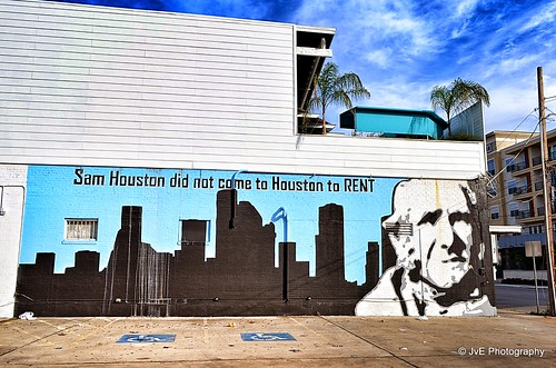 Sam Houston did not come to Houston to RENT