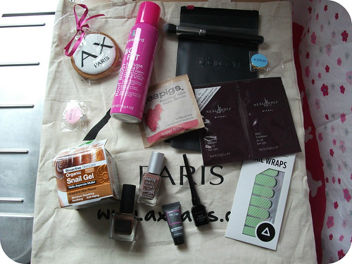 AX Paris Goodie Bag