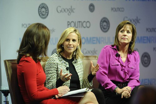 Women Rule 2013 CBS's Norah O'Donnell (left) is joined by Tory Burch of The Tory Burch Foundation (center) and Jean Case from The Case Foundation