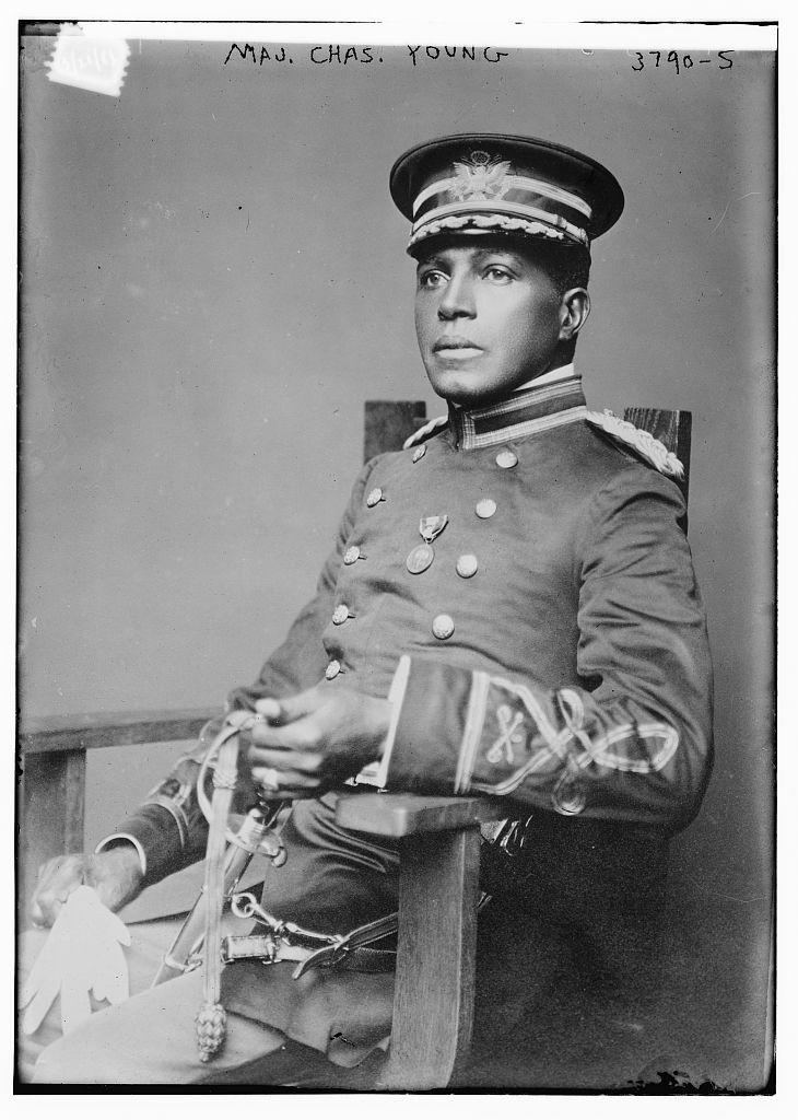 Maj. Chas. Young (LOC)