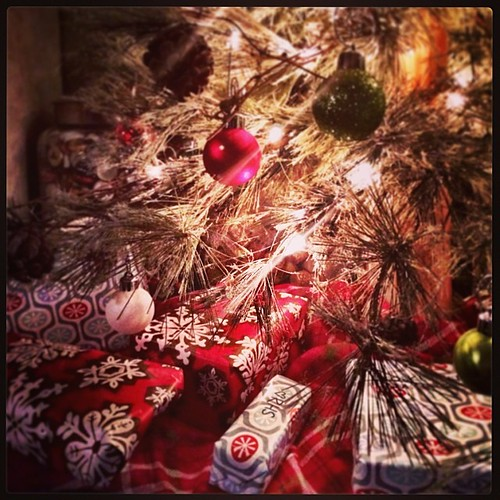 Presents are under the tree!