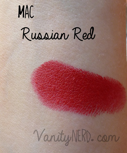 Swatch Russian Red
