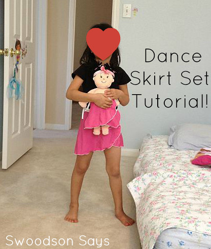 Dance Skirt Set