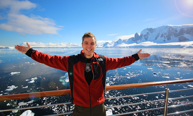 Chris Balcony Antarctica