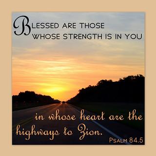 Psalm 84.5