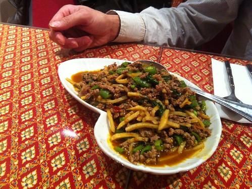 Basil Beef Stir Fry