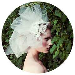 Tulle Bridal Fascinator