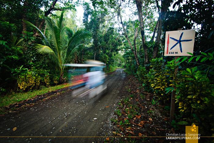 Dirtroad Leading to Jawili Beach at Tangalan, Aklan