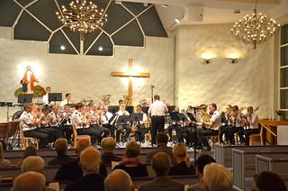 Africa-Brassets konsert i Gnosjö