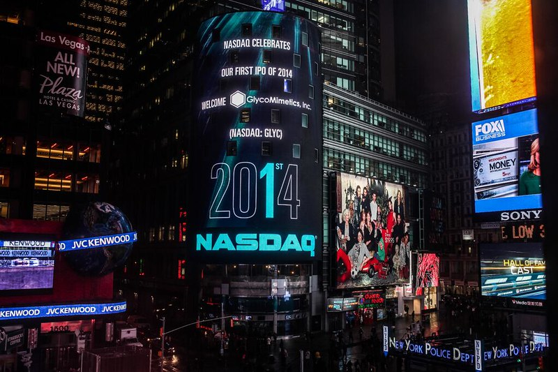 GLYCOMIMETICS FEATURED AS NASDAQ'S FIRST IPO OF 2014