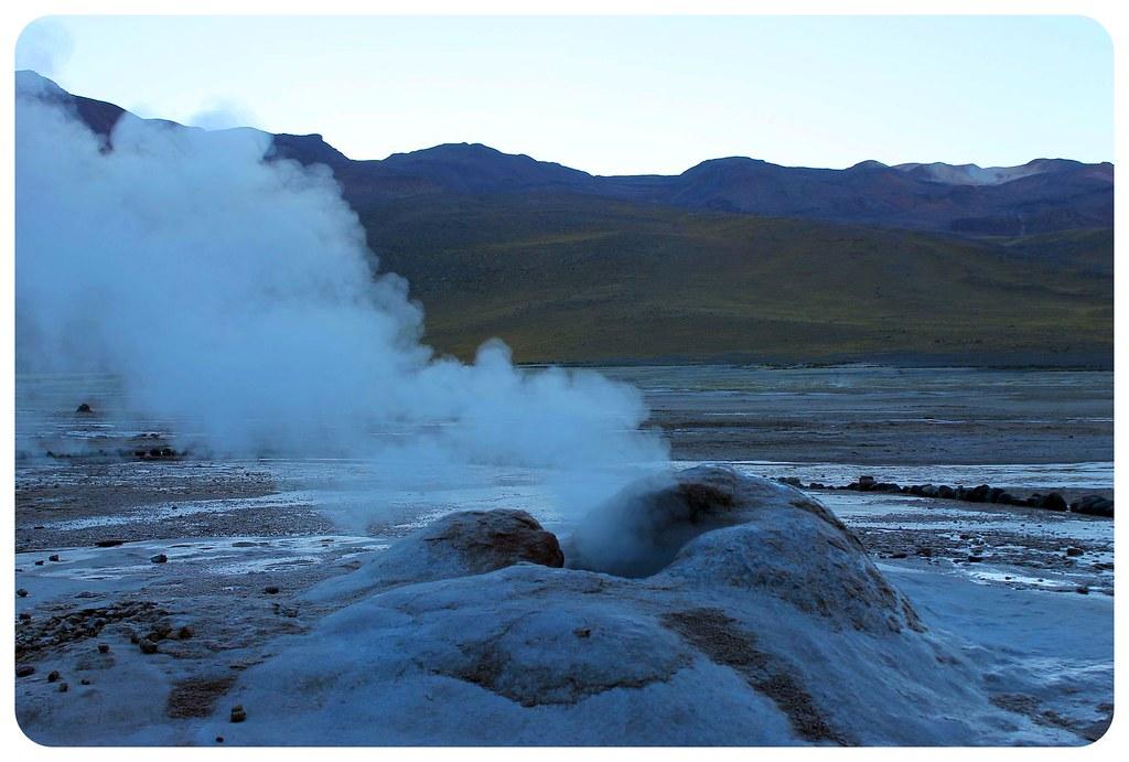 el tatio geysers chile sunrise