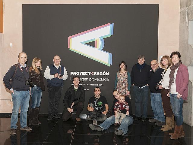 Exposición ProyectAragón - Visita FeZ