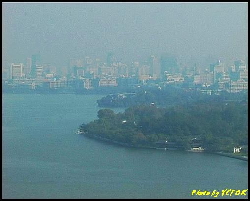 杭州 西湖 (其他景點) - 347 (從西湖十景之 雷峰塔上鳥瞰西湖十景之 柳浪聞鶯及市區)