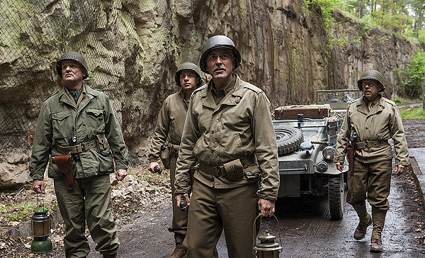 Bill Murray, Dimitri Leonidas, George Clooney and Bob Balaban are just a few of THE MONUMENTS MEN.
