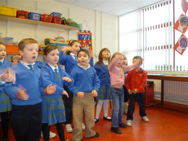 Senior Infants and Special Class 2010-2011