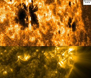 Hinode Views Sunspot Activity (NASA, Hinode, 02/07/14)